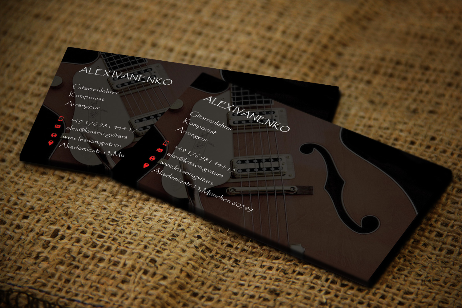 Modern, Upmarket Business Card Design for Alex Ivanenko by Lanka Ama ...