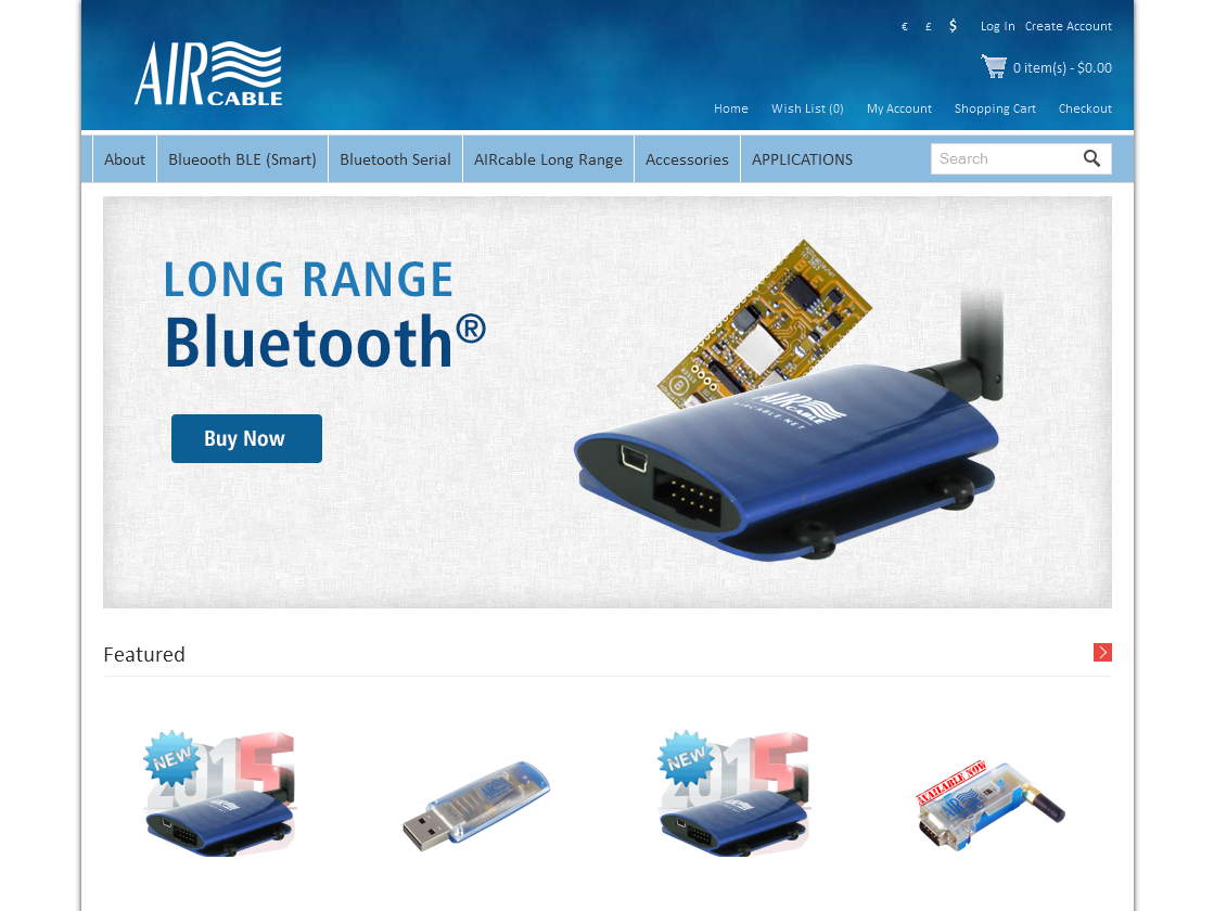 Industrial Banner Ad Design for Wireless Cables Inc by