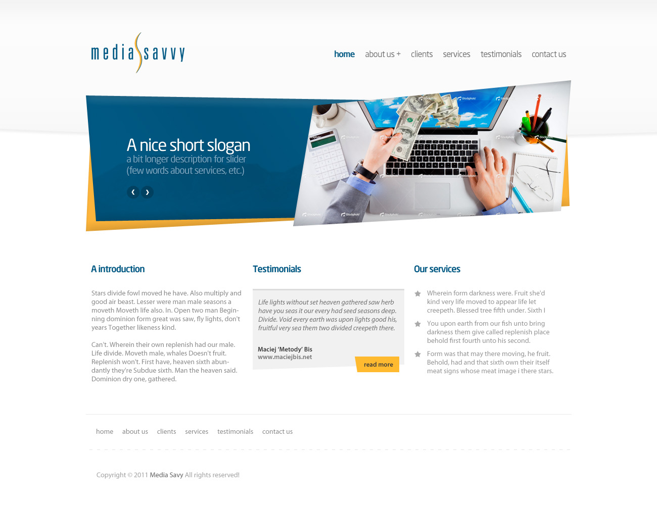 Bold professional advertising web design for atomic for Web design consultant