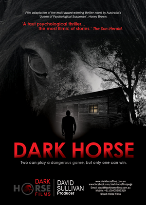Brochure Design by Kelalo - Pitch Document for an upcoming Film 'Dark Horse'