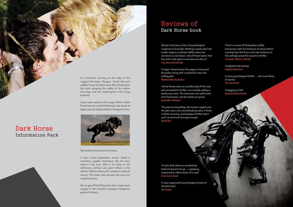 Modern upmarket industry brochure design for a company for Film brochure template