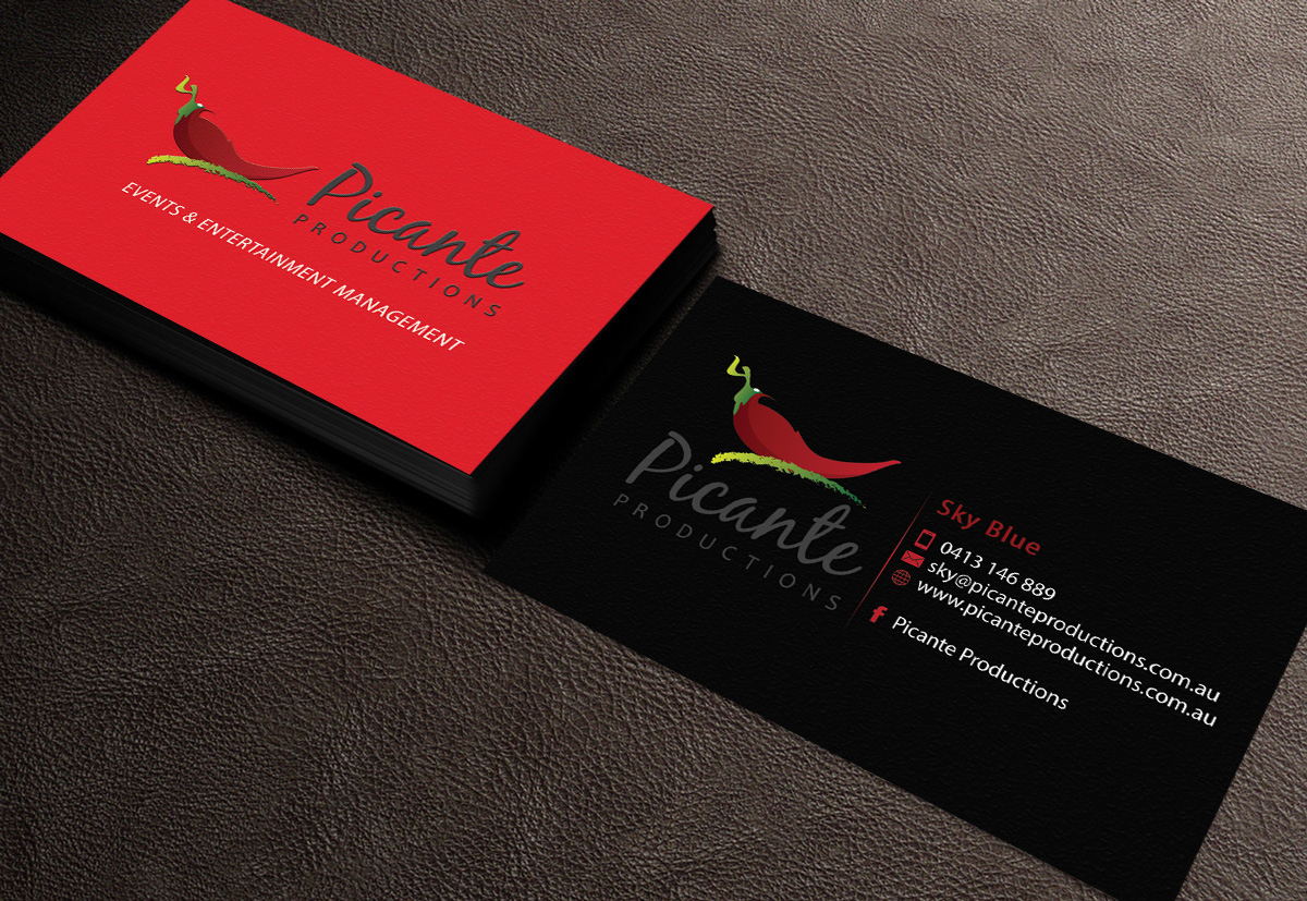 64 Bold Business Card Designs | Entertainment Business Card Design ...