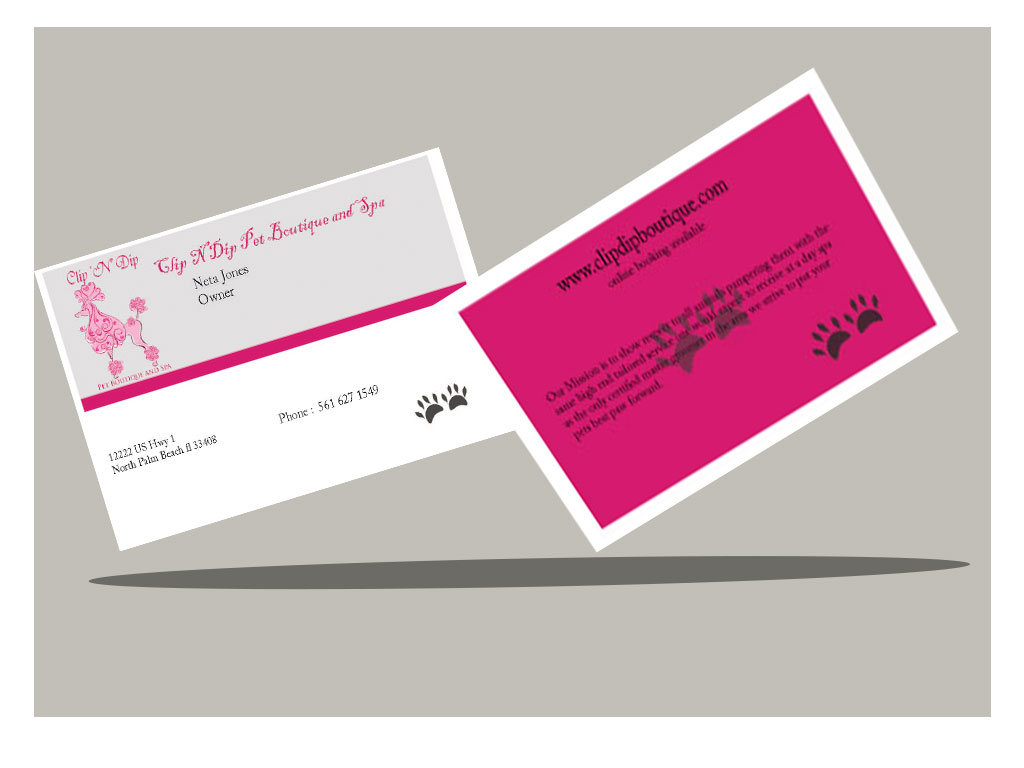 Business Business Card Design for clip n dip by Mchildress123 ...