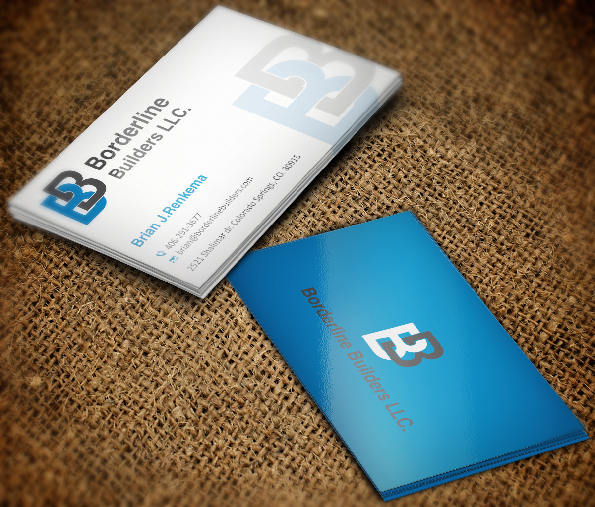 General contractor GM consaltant business card