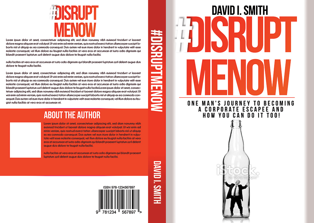 Book Cover Design For David Smith By Katrina