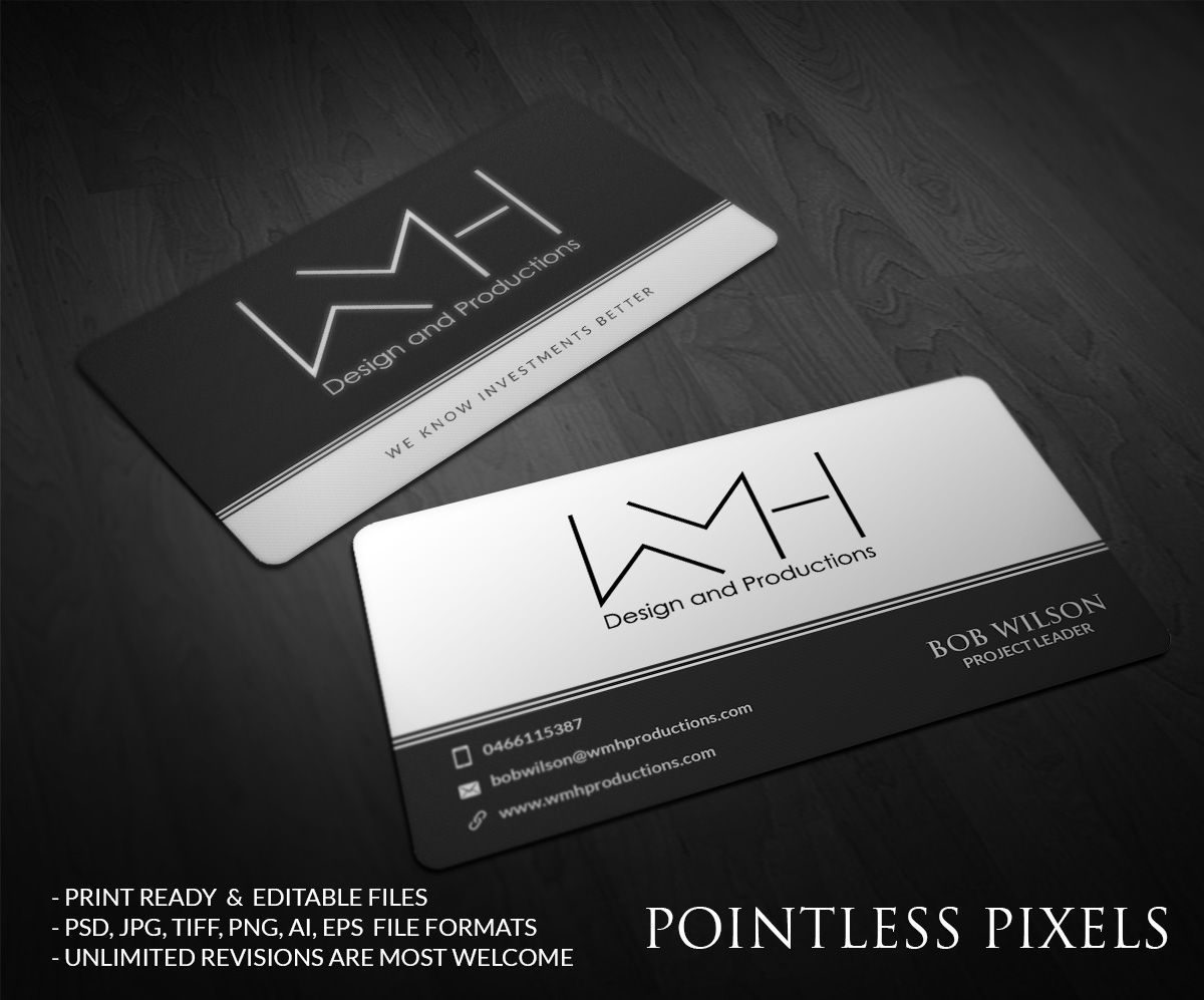 Modern, Professional, Real Estate Business Card Design for a Company ...