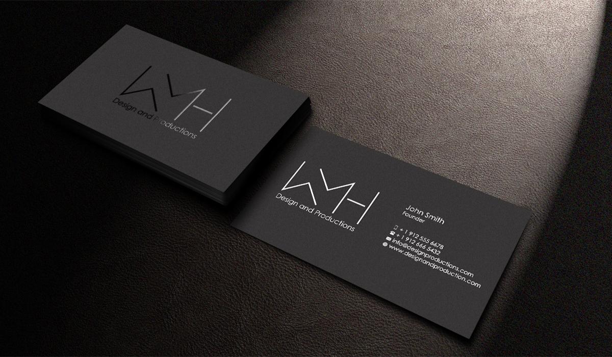 Modern Professional Business Card Design For Wren Homsey