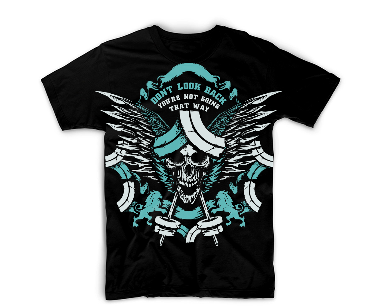 T shirt design for orlando camargo by killpixel design for Modern t shirt designs