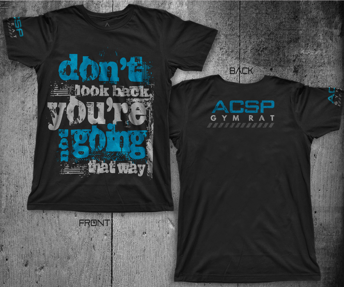 ac6cae0ad Gym T-shirt Design for a Company in United States   Design 5360135