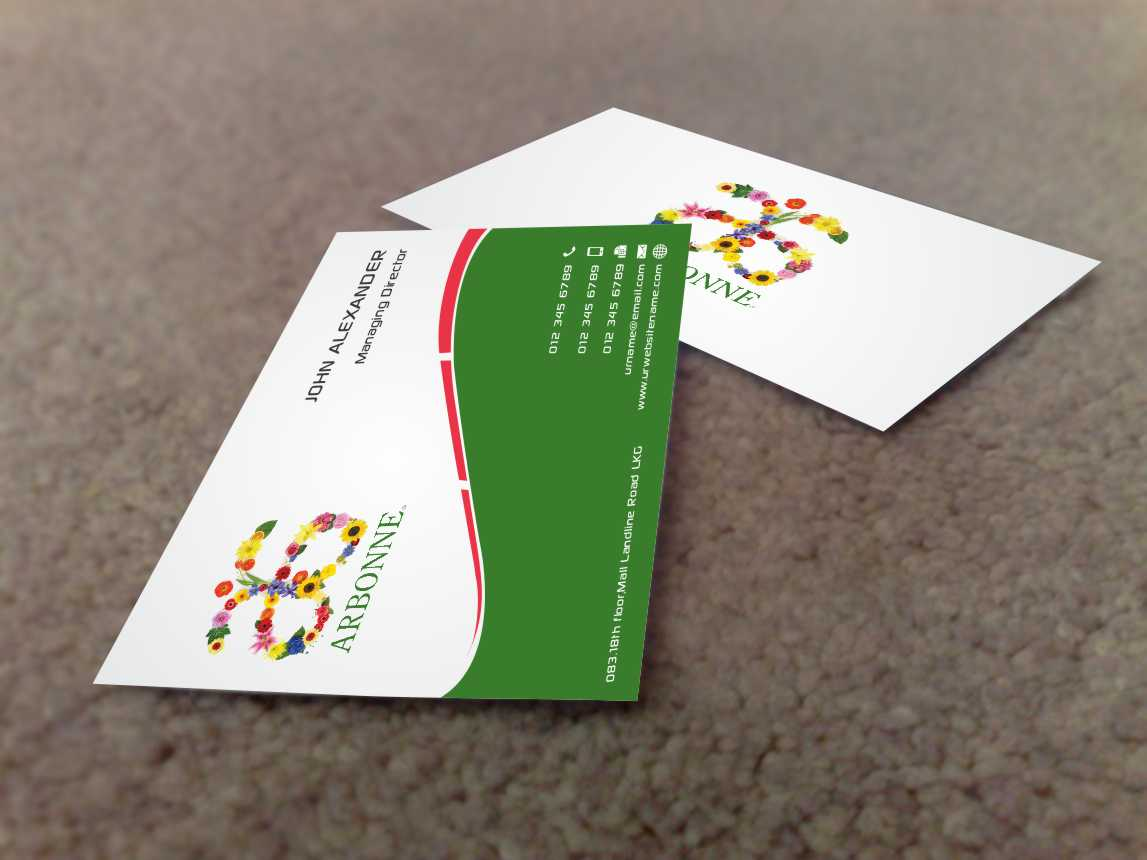 Modern, Bold, Business Business Card Design for a Company by szabist ...