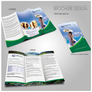 Brochure Design by yganess - Timeshare sales and holiday rental business nee ...