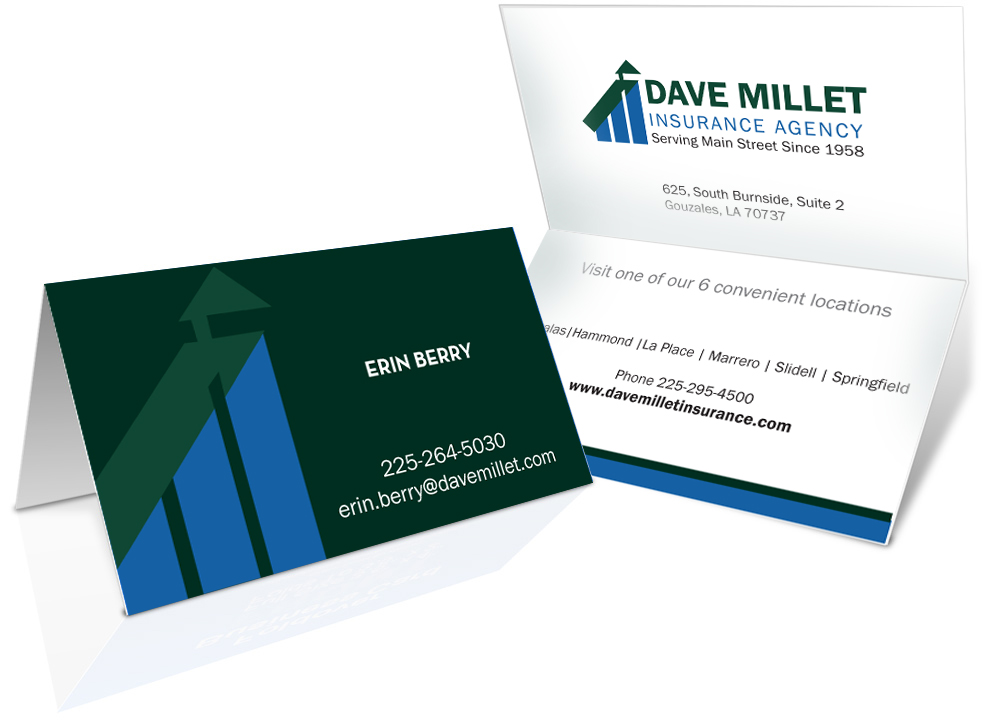 Professional bold insurance business card design for a company by business card design by designjeep for this project design 5325871 reheart Images