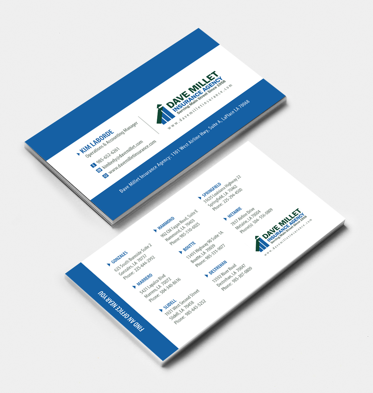 Professional bold insurance business card design for a company by business card design by rahuljoshi for this project design 5347524 reheart Images