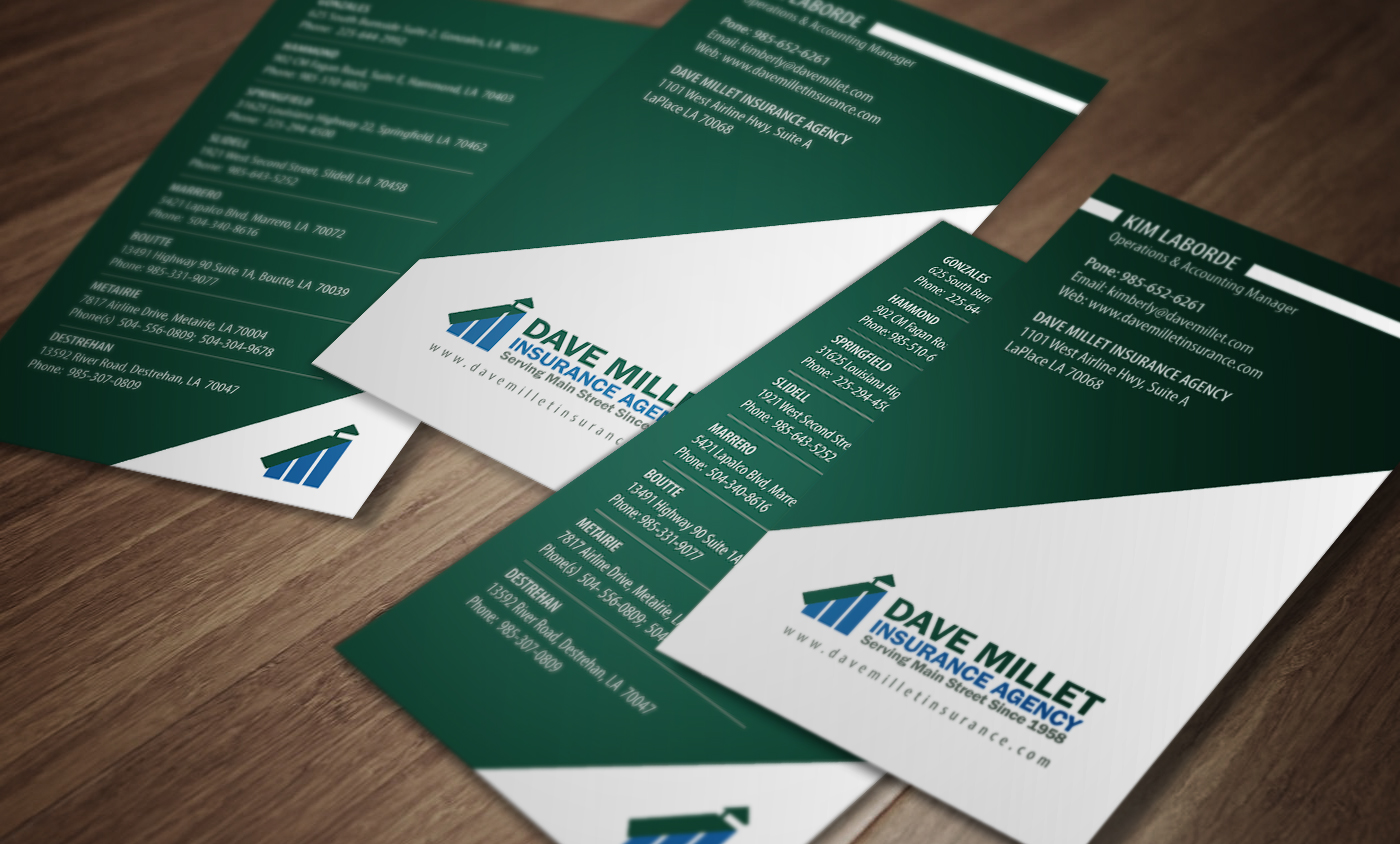 Professional bold insurance business card design for a company by business card design by rahuljoshi for this project design 5347528 reheart Images
