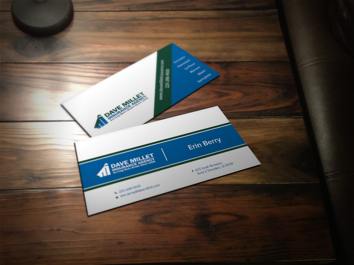Professional bold insurance business card design for a company by business card design by scorpius design for this project design 5312164 reheart Images