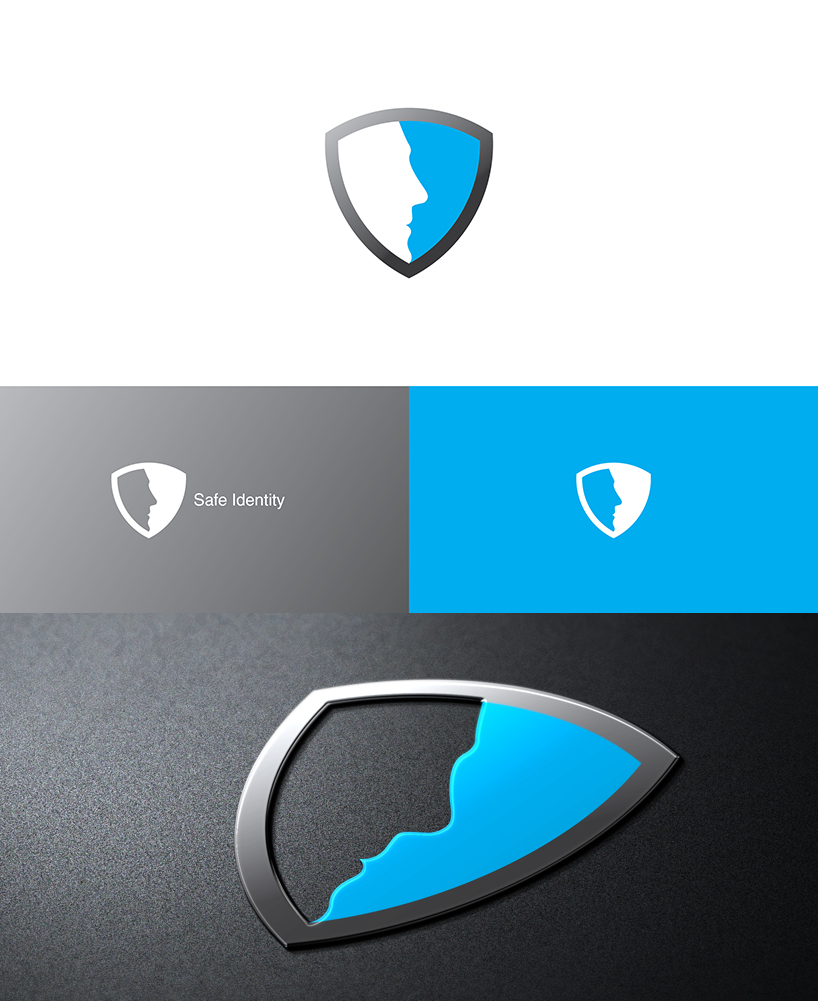 Electronic Logo Design For Safe Identity Or Similar Or No Words