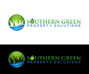 Logo Design by Renision - Lawn maintenance chemical and fertilizer applic ...