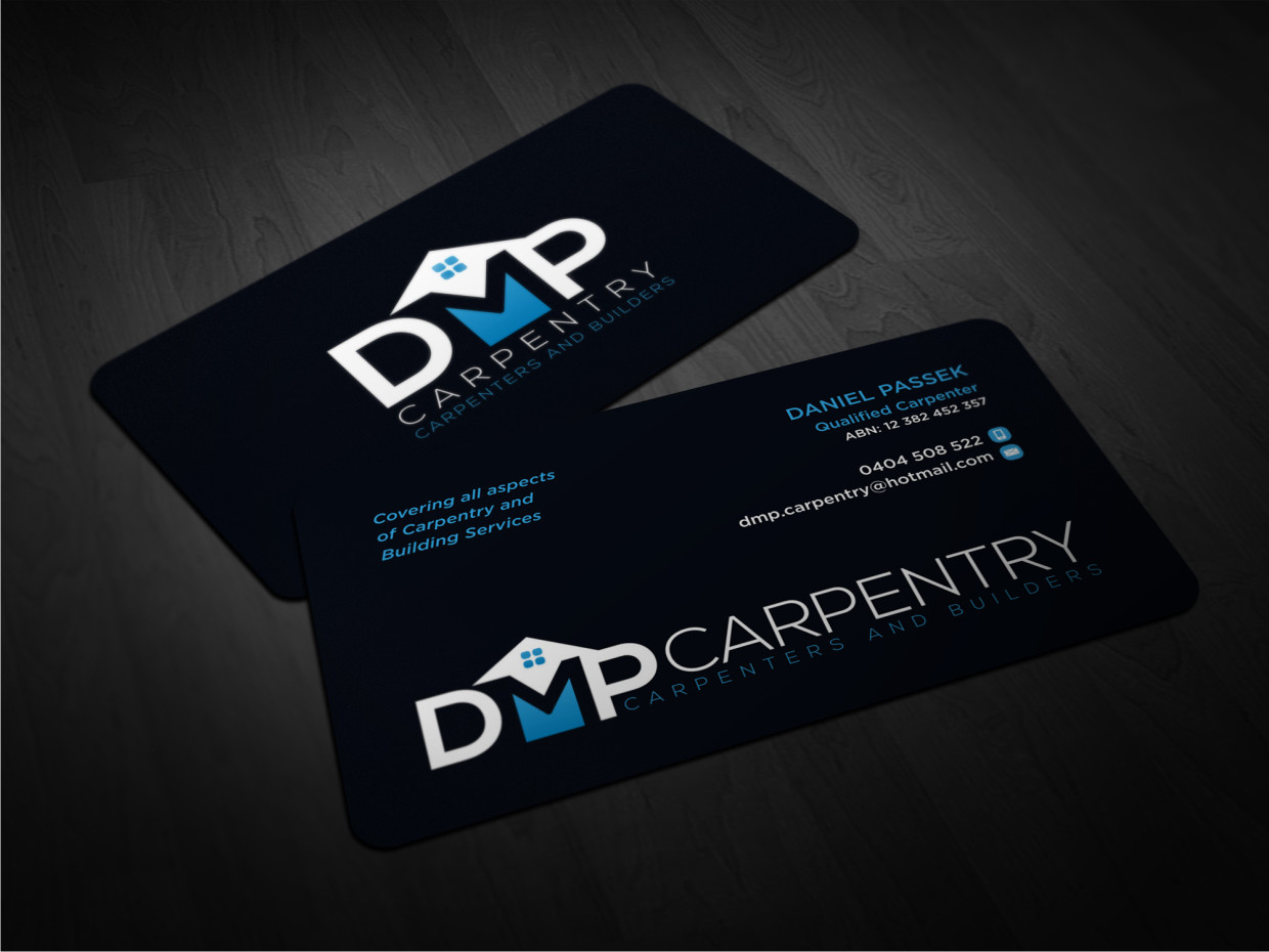 Delighted carpenter business cards ideas business card ideas elegant playful business business card design for a company by reheart Gallery