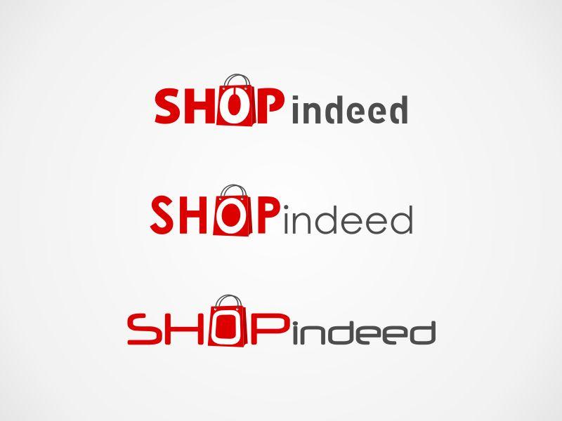 elegant playful online shopping logo design for shopindeed shop indeed by alfa design 282059. Black Bedroom Furniture Sets. Home Design Ideas