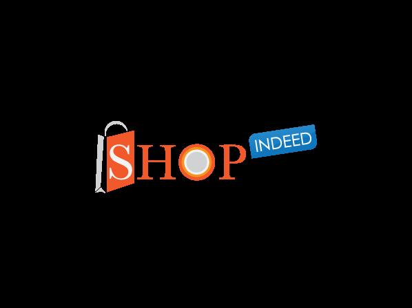 Elegant Playful Online Shopping Logo Design For Shopindeed