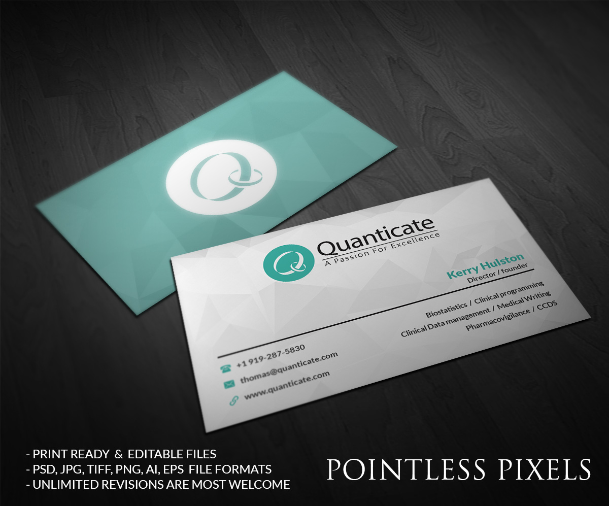 Business Business Card Design for a Company by Pointless Pixels ...