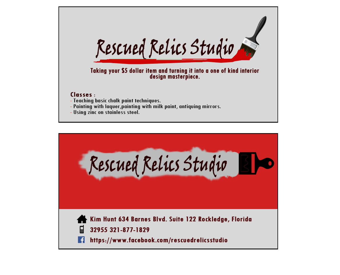 Painting Business Card Design for a Company by luai   Design #5329690