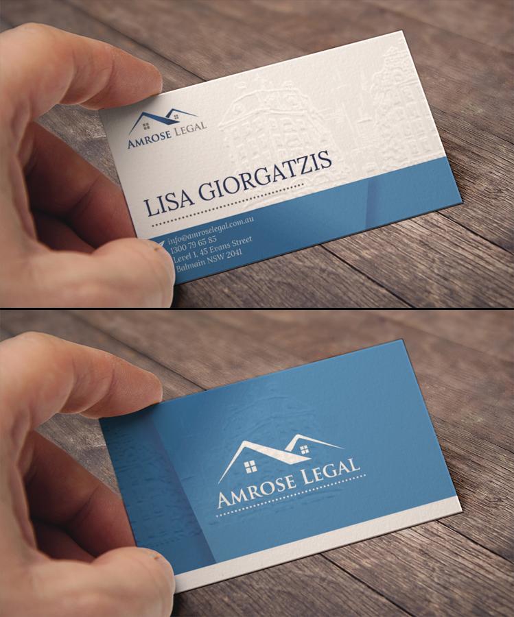 Elegant, Modern Business Card Design for Lisa by Grafire Studio ...