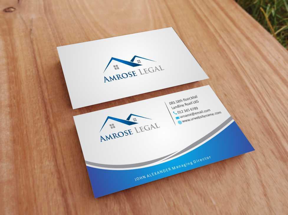 Elegant, Modern Business Card Design for Lisa by szabist | Design ...