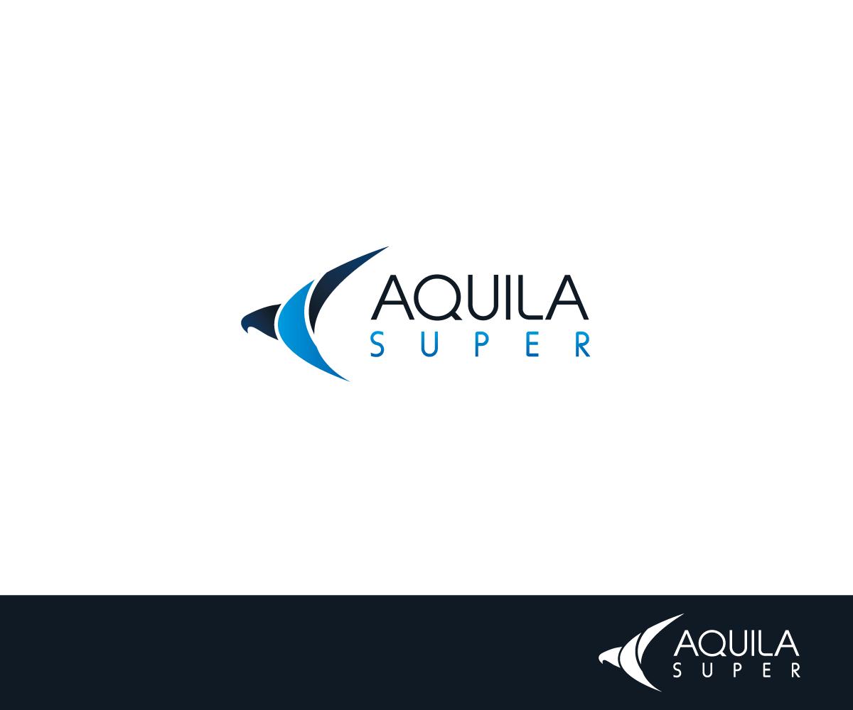 Upmarket modern logo design for aquila super by sergio for Australian design firms
