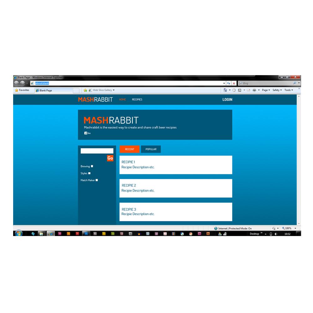 Modern, Playful, Seeking Web Design for a Company by Phil B