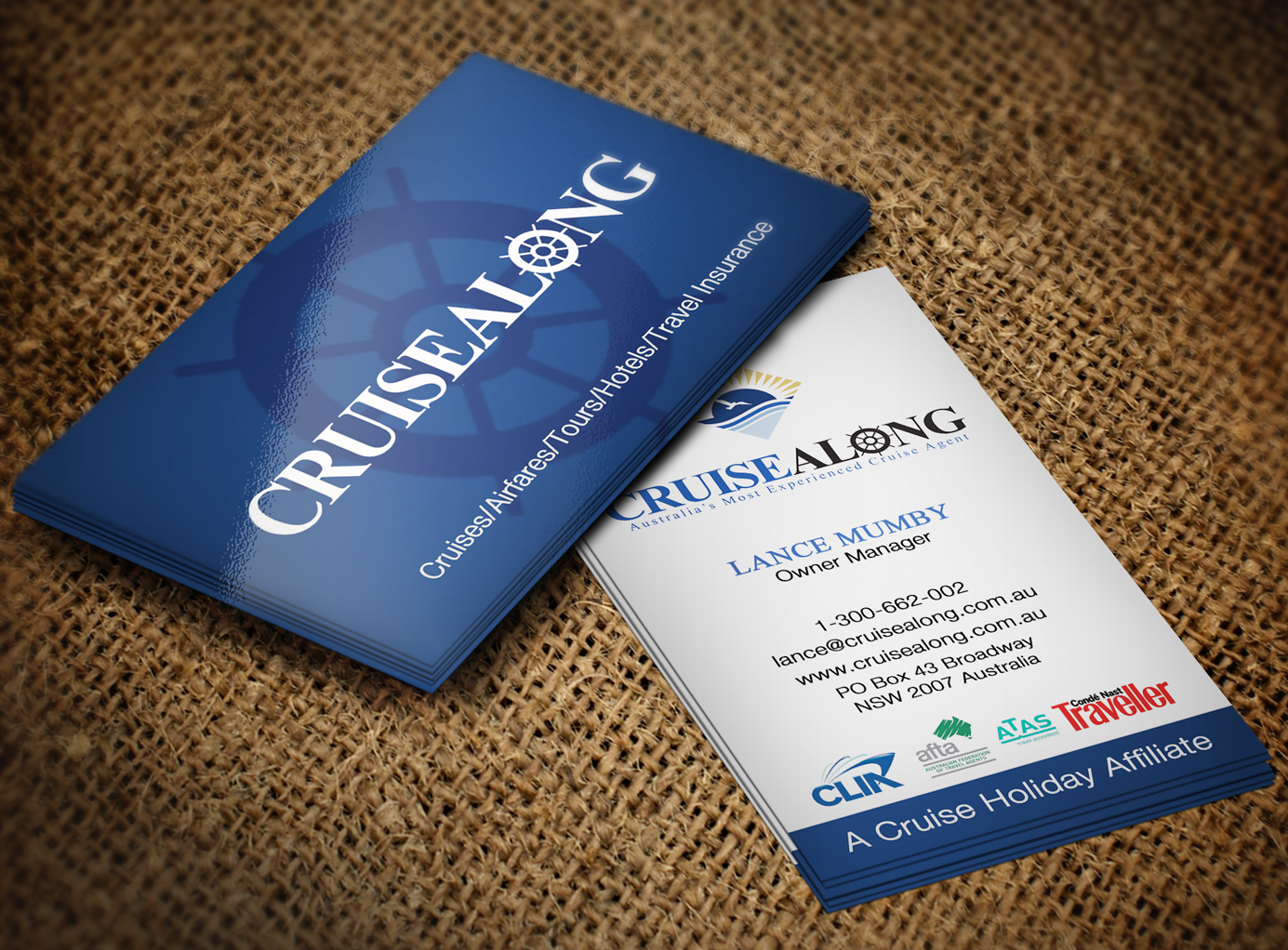 Elegant playful insurance business card design for cruisealong pty business card design by creation lanka for cruisealong pty ltd design 5623621 colourmoves