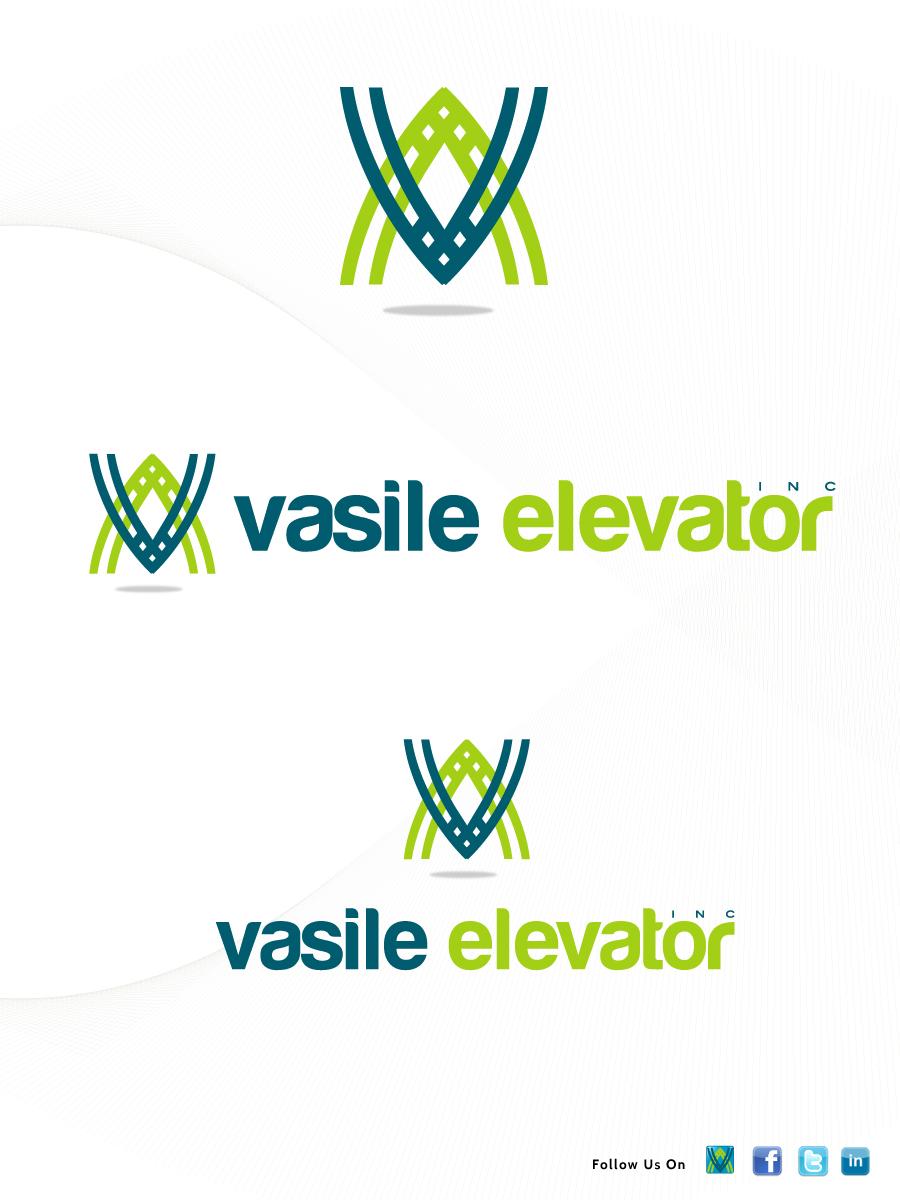 Modern, Upmarket, It Company Logo Design for Vasile Elevator, Inc by