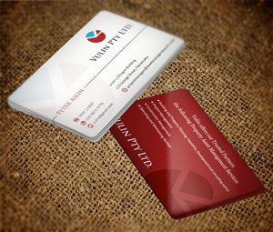 Business Card Design by MT - Project Managers Business card design