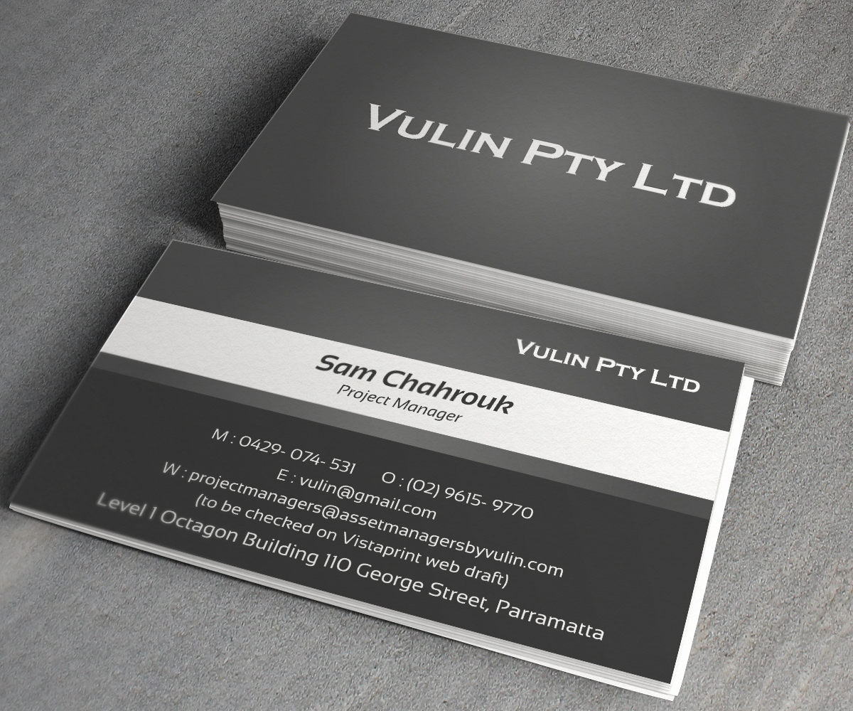 Construction Business Card Design for a Company by toron00 | Design ...