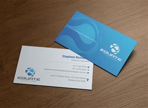 Business Card Design by patriotu - Business card design needed