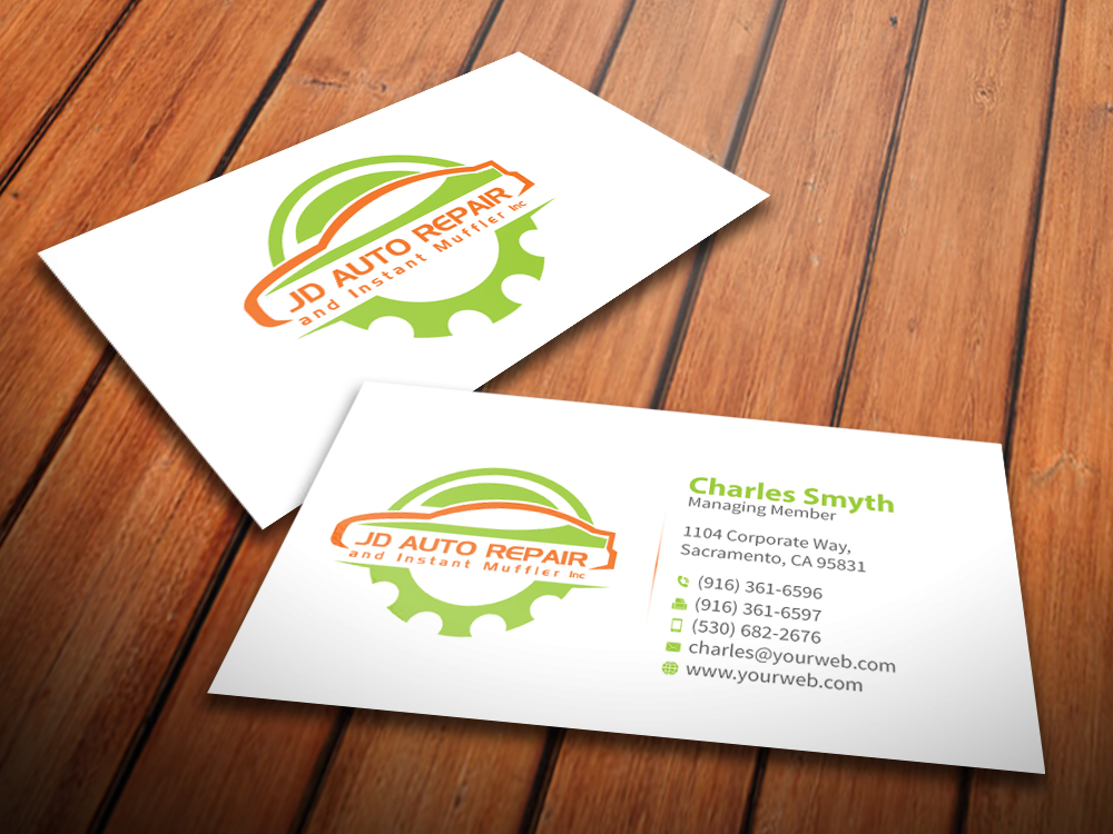 Elegant Spielerisch Shop Visitenkarten Design Für A