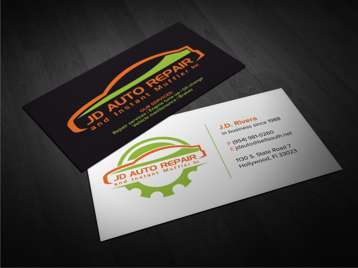 Elegant, Playful Business Card Design for marybell rivera by Atvento ...