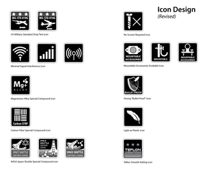 Icon Design by  MicroZ - Cool Icons for Packaging Material