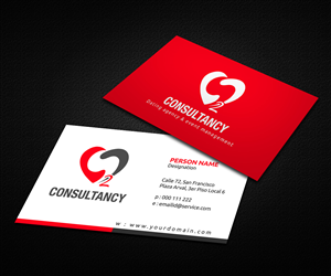 28 professional business consultant business card designs for a