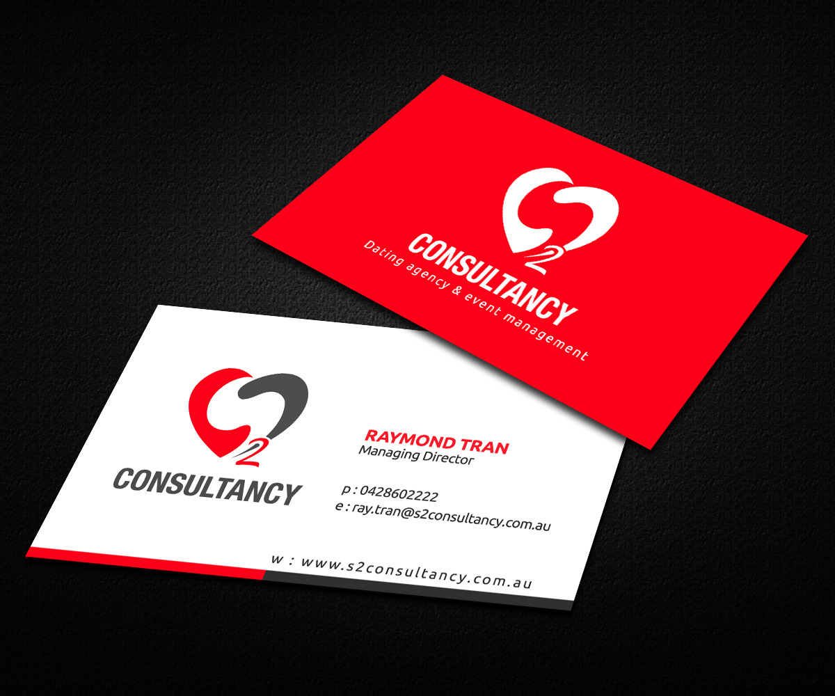 Business card design for s2 consultancy by ideaz2050 for Business design consultant