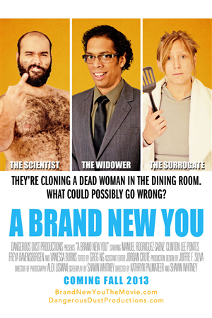 Poster Design by Brian Kim - A Brand New You film poster