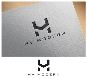 logo design for luxury modern urban home builder passionate about