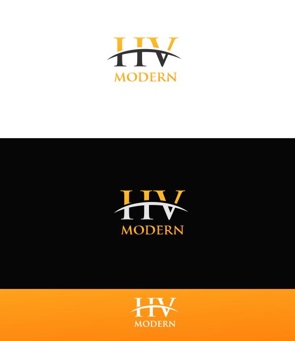 Bold Serious Home Builder Logo Design For Hv Modern By Green20 Design 5364369