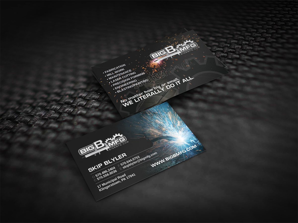 167 masculine business card designs business business card design business card design by dirtyemm for big b mfg design 5402166 colourmoves