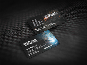 Business Card Design by diRtY.EMM - Custom Manufacturing Job Shop