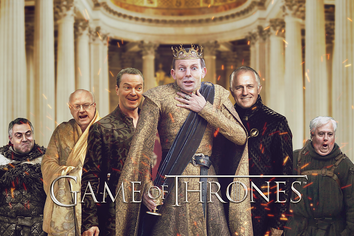 See Aussie Politicians Re-Imagined As Game of Thrones Characters