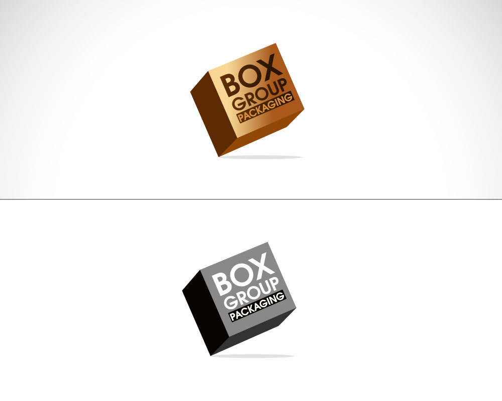 Character Design Job Singapore : Industrial logo design for box group packaging by sg