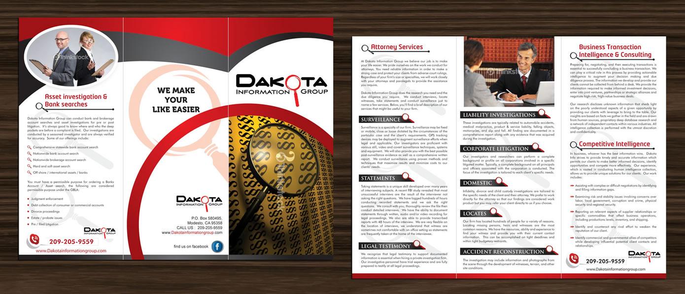 22 upmarket brochure designs private investigator brochure design