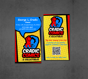 95 masculine business card designs business business card design business card design by designnteam for cradic comics and collectibles design colourmoves