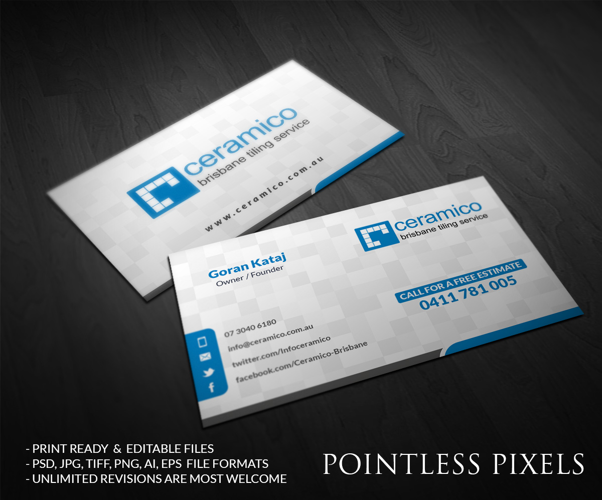 Business business card design for a company by pointless pixels business business card design for a company in australia design 5407998 reheart Choice Image